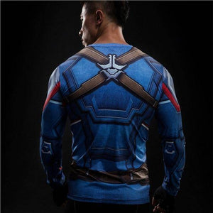 Winter Soldier Crossfit Compression Shirt  -  picture color6 / S  -  T-Shirts  - SNS Outlet