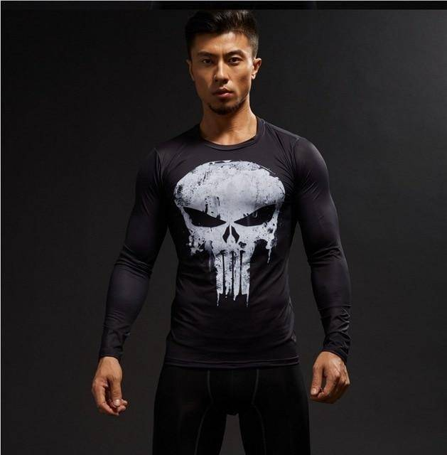 Winter Soldier Crossfit Compression Shirt  -  picture color8 / S  -  T-Shirts  - SNS Outlet