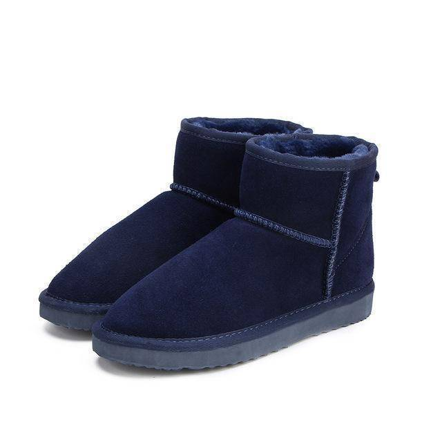 WOLF Low Cut Aussie Boot  -  Navy Blue / 11  -   - SNS Outlet
