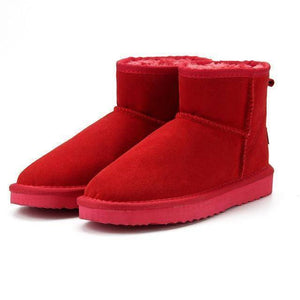WOLF Low Cut Aussie Boot  -  Red / 11  -   - SNS Outlet