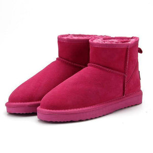WOLF Low Cut Aussie Boot  -  Rose Red / 11  -   - SNS Outlet