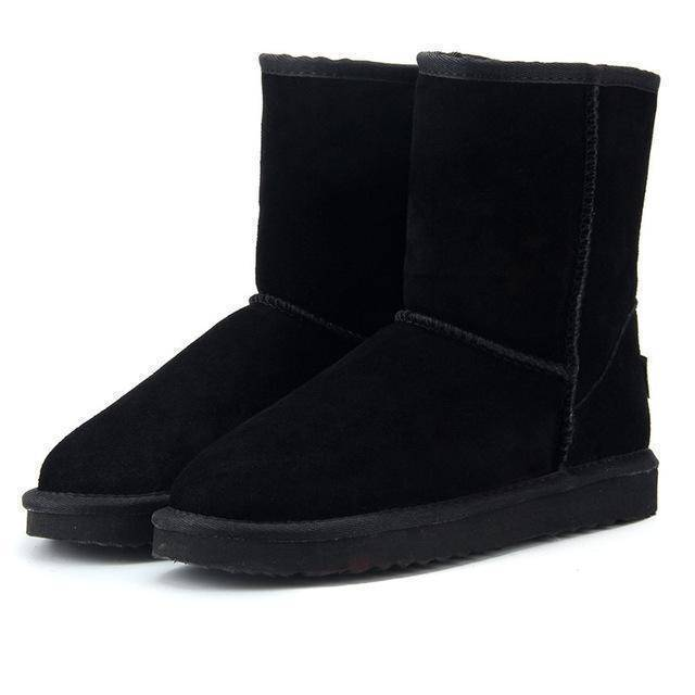 WOLF Mid Cut Aussie Boot  -  Black / 3  -  Boots  - SNS Outlet