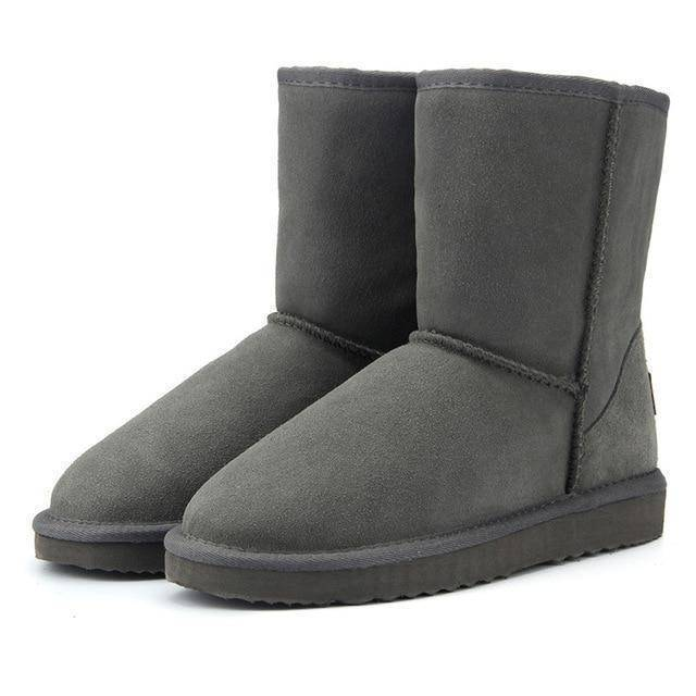 WOLF Mid Cut Aussie Boot  -  Gray / 3  -  Boots  - SNS Outlet