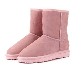 WOLF Mid Cut Aussie Boot  -  Light Pink / 3  -  Boots  - SNS Outlet