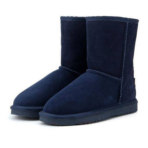 WOLF Mid Cut Aussie Boot  -  Navy Blue / 3  -  Boots  - SNS Outlet