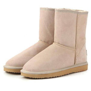 WOLF Mid Cut Aussie Boot  -  Sand / 3  -  Boots  - SNS Outlet