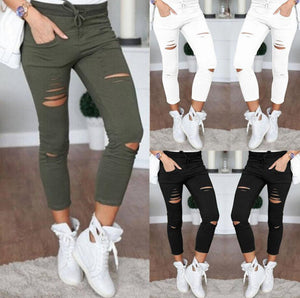 Women's Skinny Jeans  -  Black / S  -  Jeans  - SNS Outlet