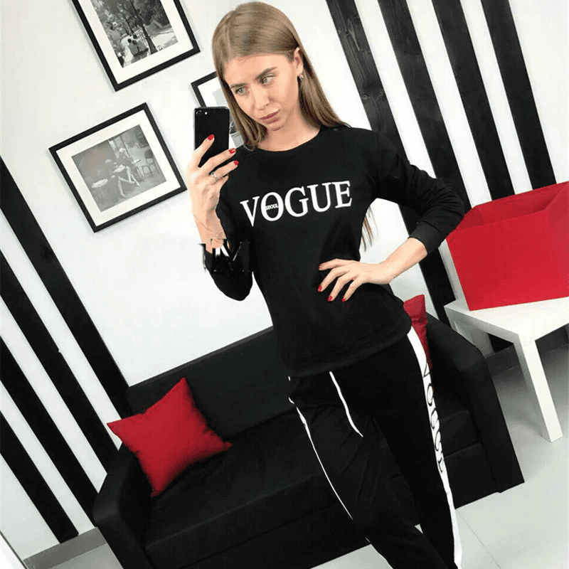Womens Designer Tracksuits  -  Black / S  -  Track Suit  - SNS Outlet