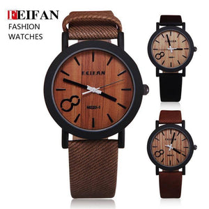 Wooden Quartz Watch  -  MN5121-1  -  Watches  - SNS Outlet