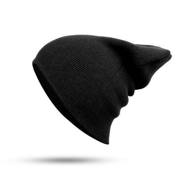 Wrecked Beanie  -  Black  -   - SNS Outlet