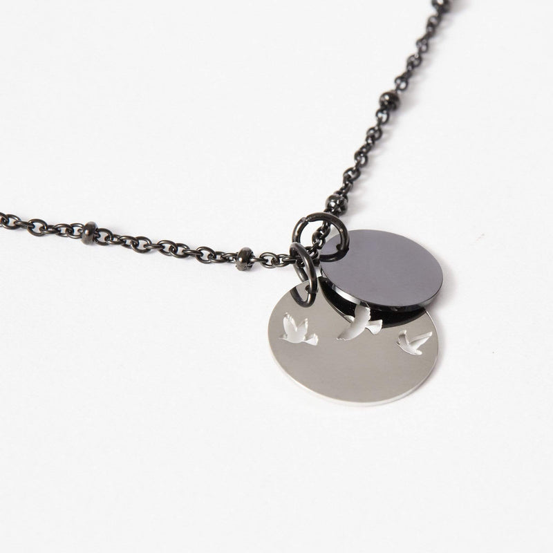 Short Personalised Bird Necklace - aaina & co