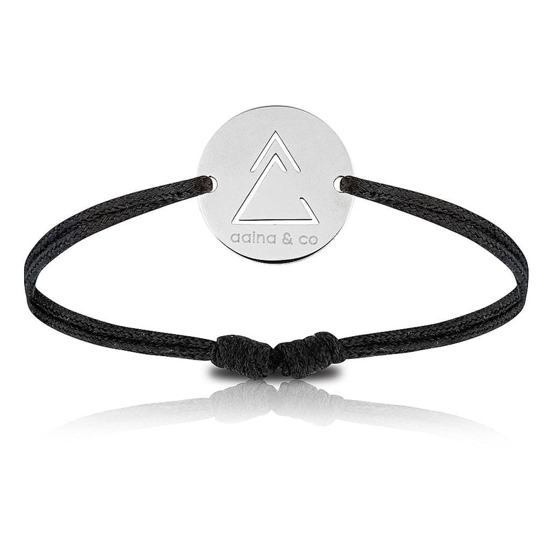 Unclosed Delta Cord Bracelet - aaina & co