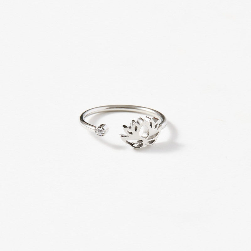 Lotus Flower Ring - aaina & co