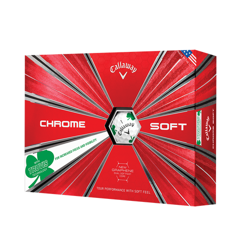 Callaway Chrome Soft Truvis - Shamrock