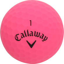 Laden Sie das Bild in den Galerie-Viewer, Callaway Supersoft 2019 pink matt -12er Pack