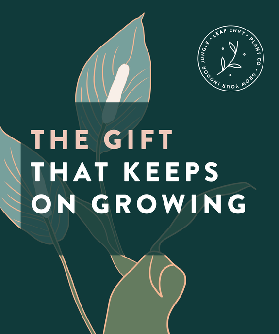 Give The Gift That Grows