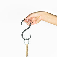 Load image into Gallery viewer, HAND FORGED IRON HOOK