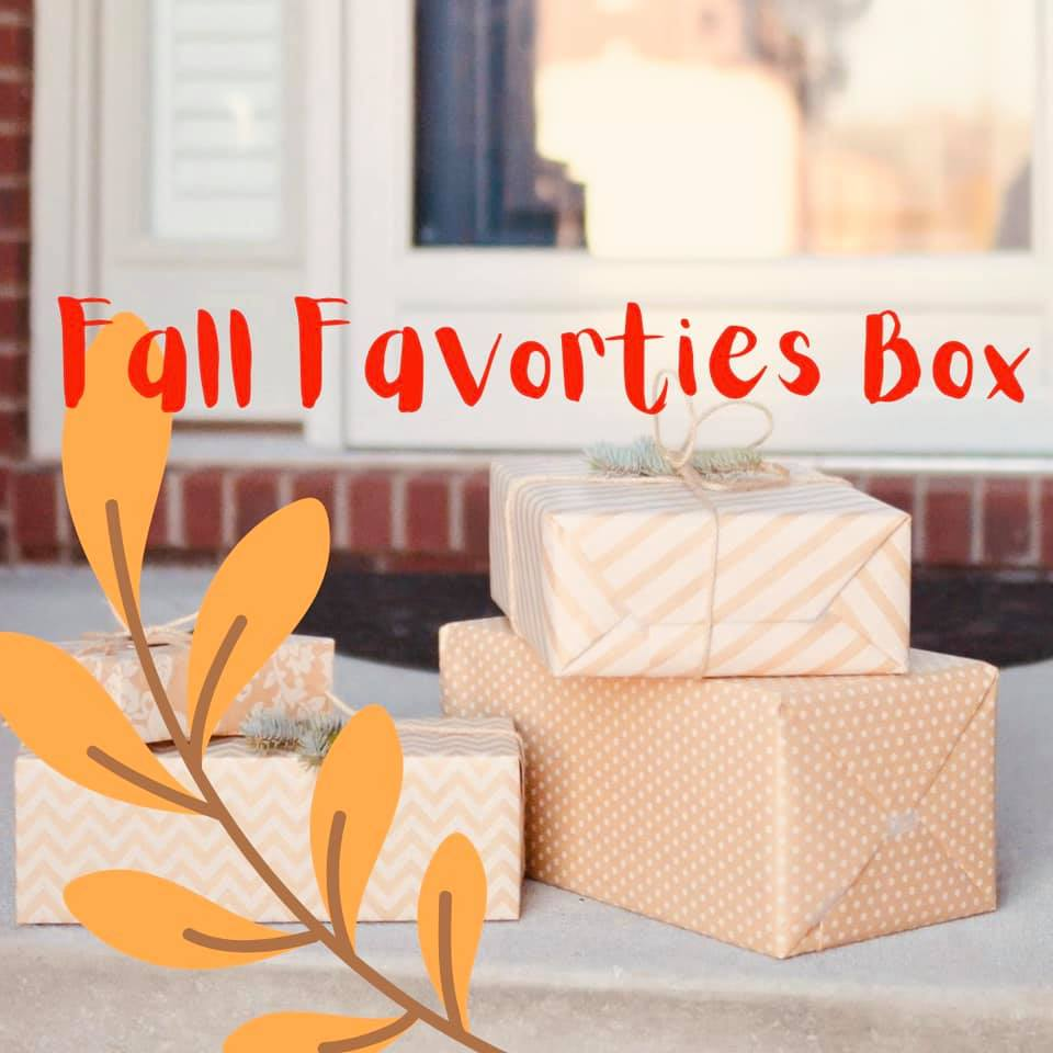 Fall Favorites Box- Including US Shipping - GooeyGump Designs