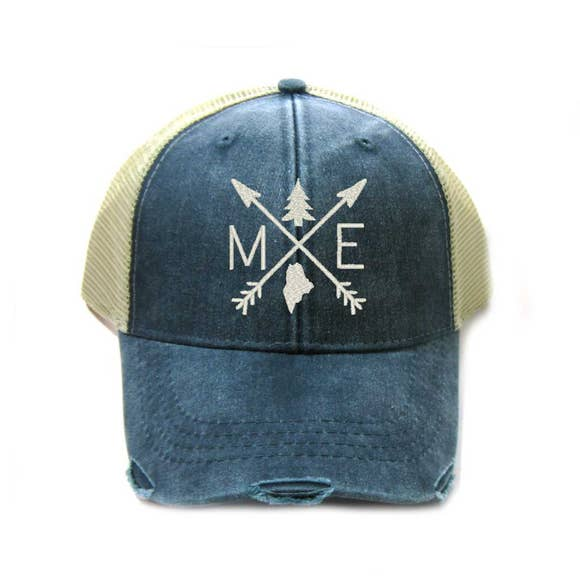 Maine Arrow Trucker Hat - GooeyGump Designs
