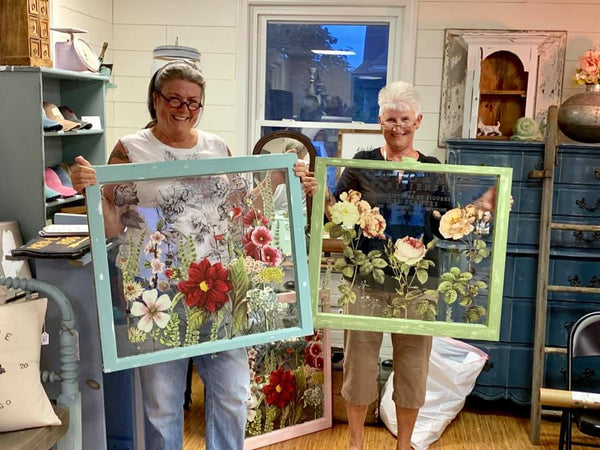 Floral Window Workshop- Friday March 27th - GooeyGump Designs