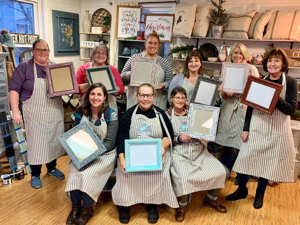 Chalk/Furniture Painting 101- TUESDAY FEBRUARY 25th - GooeyGump Designs