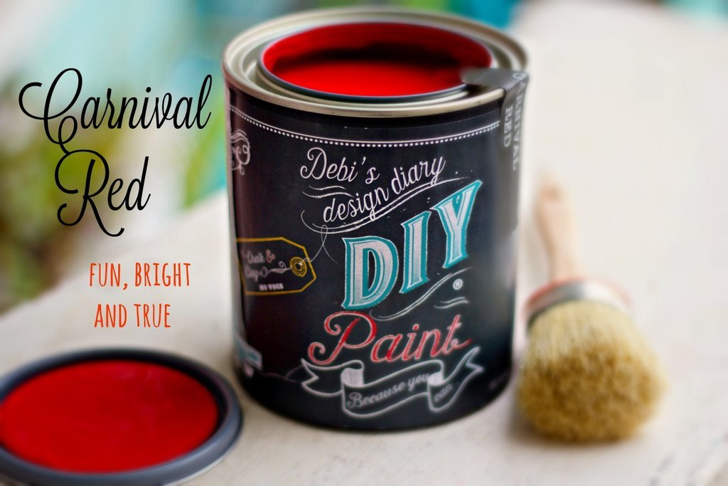 Carnival Red | DIY Paint - GooeyGump Designs