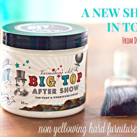 Big Top | Top Coat | DIY Paint - GooeyGump Designs