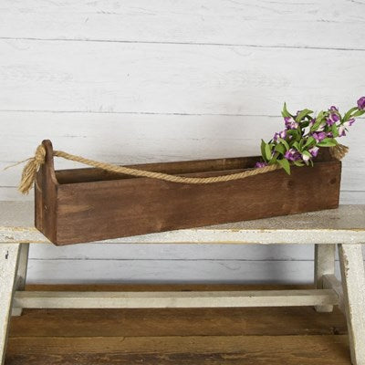 *Customizable* Long Wood Tool Box - GooeyGump Designs