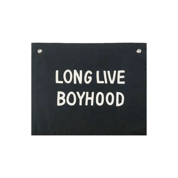 Boyhood Banner - GooeyGump Designs