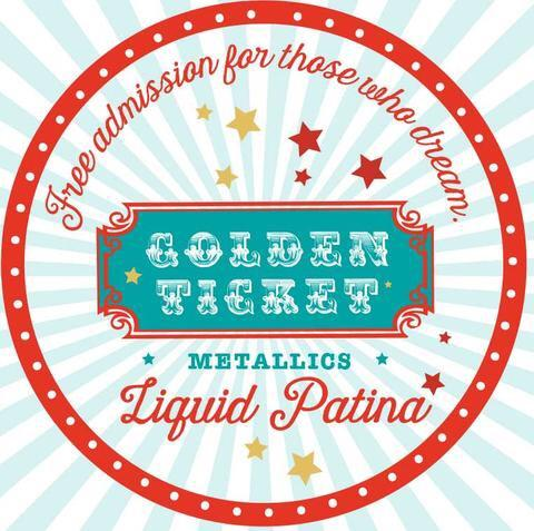 Golden Ticket | Liquid Patina | DIY Paint - GooeyGump Designs