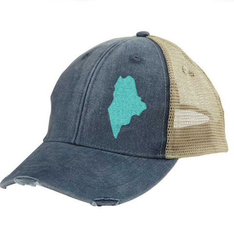Maine Pride Trucker Hat - GooeyGump Designs