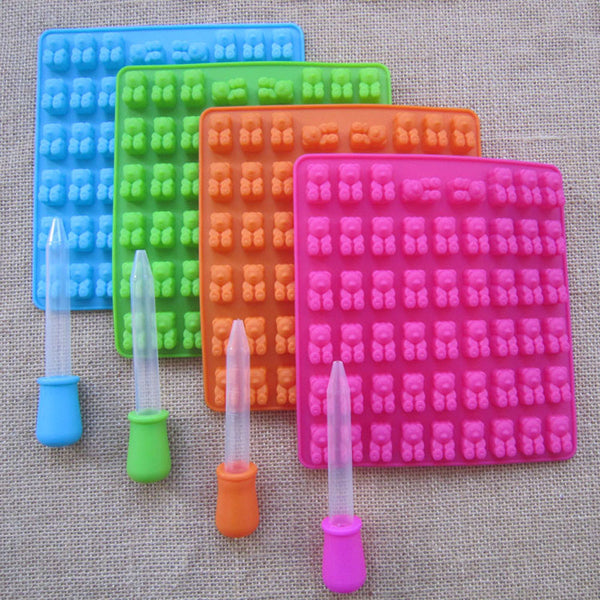 Silicone Gummy Bear Tray