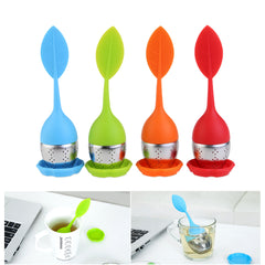 Leaf Shaped Silicone Tea Infuser