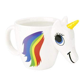 3D Unicorn Ceramic Mug