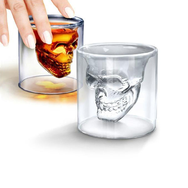 Creative Crystal Skull Glass
