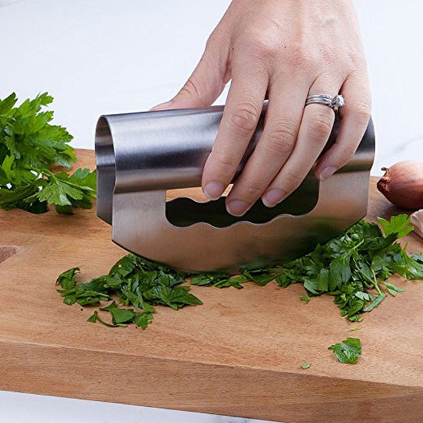 Stainless Steel Mincing Knife