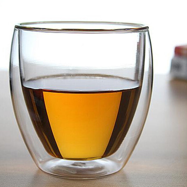 250 ML Double Layers Glass