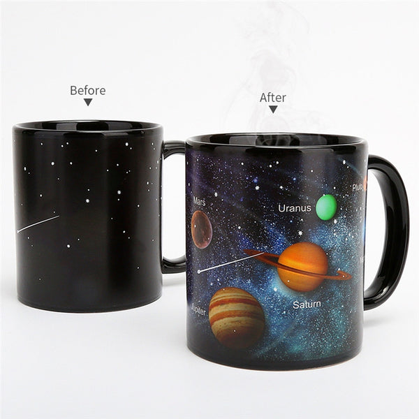 Heat Sensitive Ceramic Mug