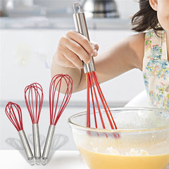 3 Pcs Silicone Balloon Whisk