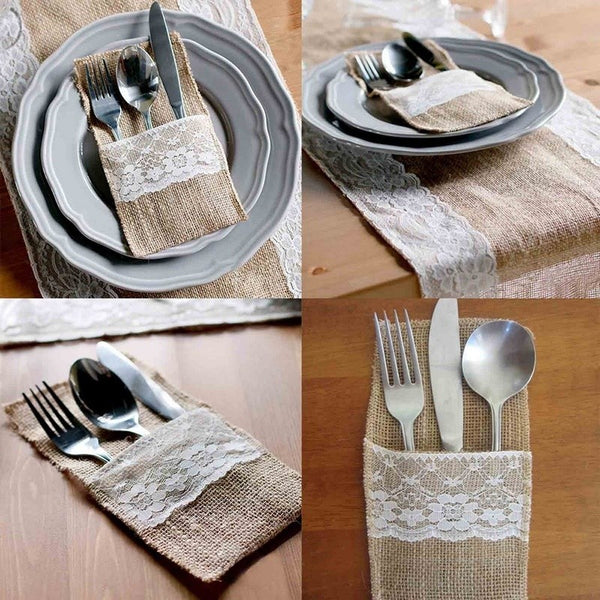 Retro Lace Tableware Decorations