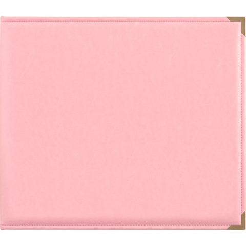 "288971 Kaisercraft Leather D-Ring Album 12""X12"" Pink"