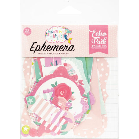 335012 Echo Park Cardstock Ephemera 33/Pkg Icons, Imagine That Girl