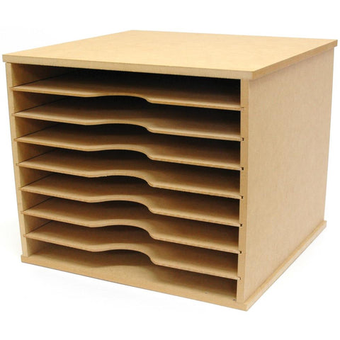 "386634 Kaisercraft Beyond The Page MDF Paper Storage Unit-11""X13.25""X12.25"""
