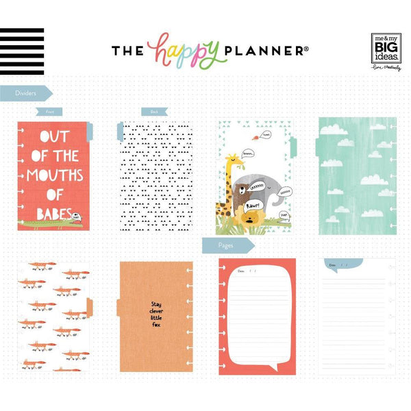 600949 Happy Planner Mini Journaling Notebook W/80 Sheets He Said
