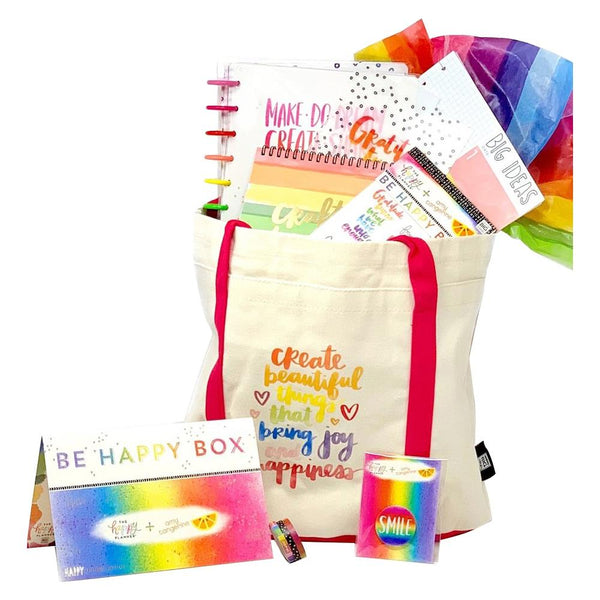 603060 Amy Tangerine Be Happy Box