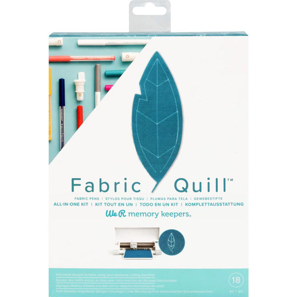 We R Memory Keepers Fabric Quill Starter Kit