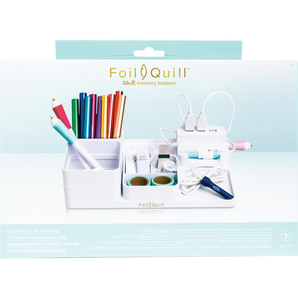 605646 We R Memory Keepers Foil Quill USB Modular Storage