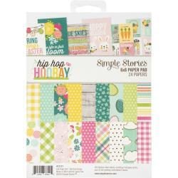 SIMPLE STORIES6X8 PAD   -HIP HOP HOORAY PAPER