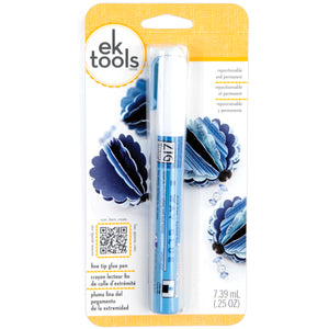 049088 EK/Zig 2-Way Glue Pen Carded-Fine Tip