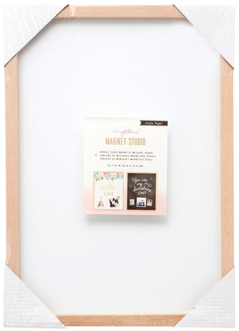 "204967 Maggie Holmes Magnet Board-10""X14"" Black & White"